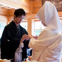 妙見宮神前結婚式1