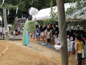 奉納子供相撲大会2014-06