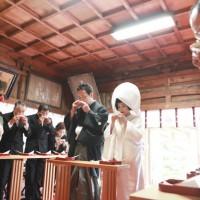 妙見宮神前結婚式5