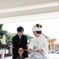 妙見宮神前結婚式2