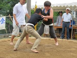 奉納子供相撲大会2014-12