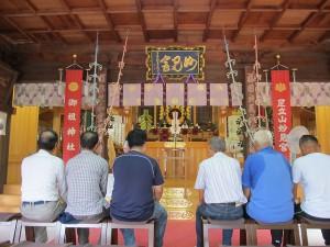 奉納子供相撲大会2014-02