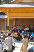神楽殿-春季例大祭 奉納演奏会2