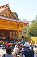 神楽殿-春季例大祭 奉納演奏会1